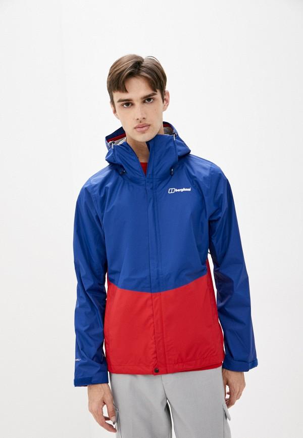мужская куртка berghaus, синяя