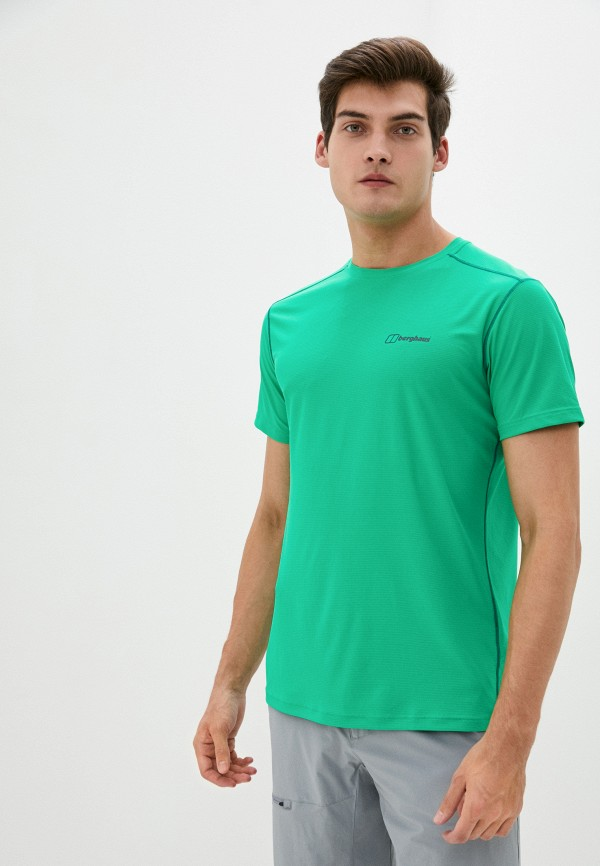 мужская спортивные футболка berghaus, зеленая
