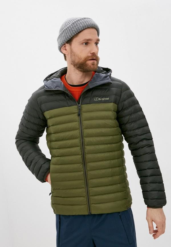 мужская куртка berghaus, хаки