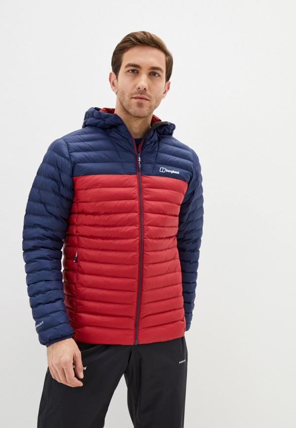 мужская куртка berghaus, разноцветная