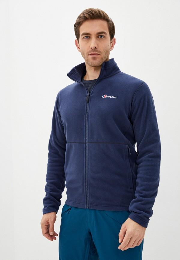 мужская олимпийка berghaus, синяя