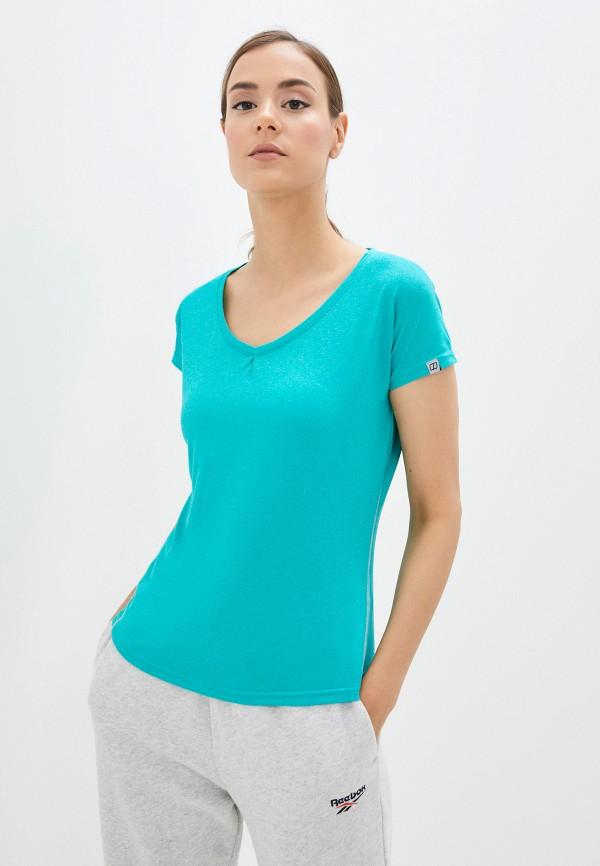 женская спортивные футболка berghaus, голубая