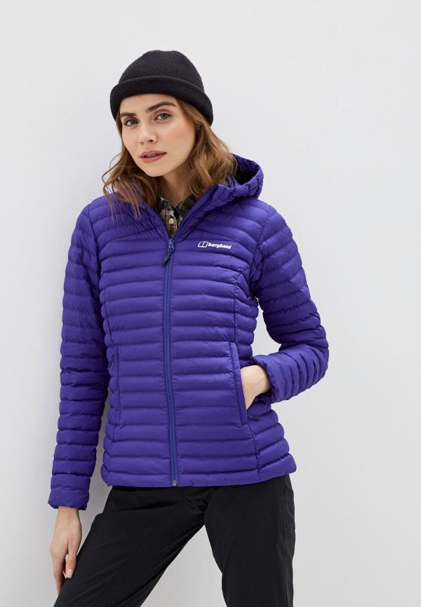 женская куртка berghaus, фиолетовая