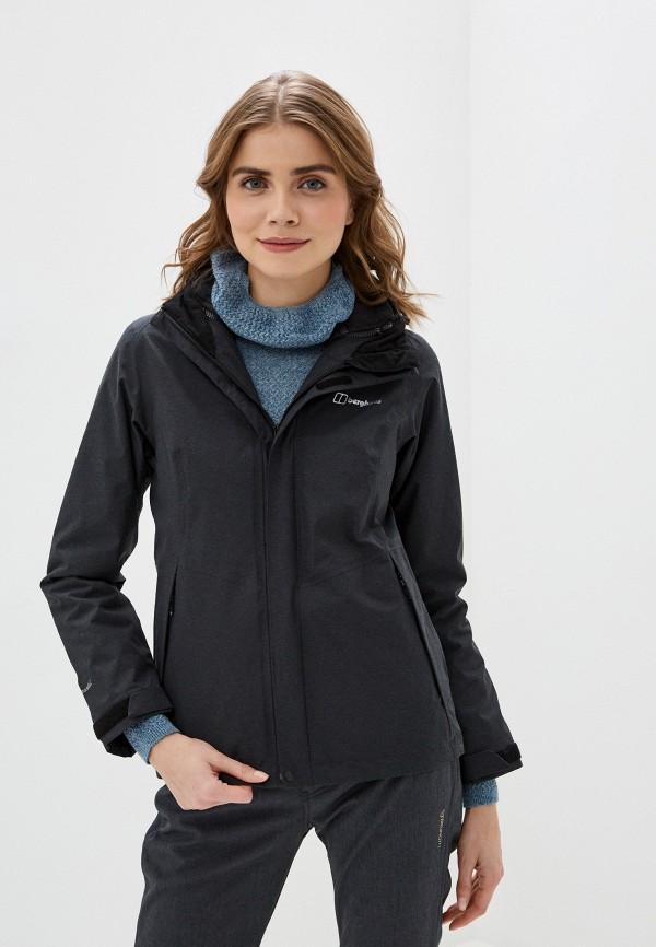 женская куртка berghaus, серая