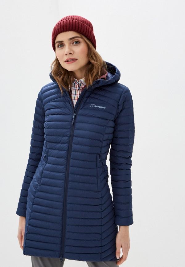 женская куртка berghaus, синяя