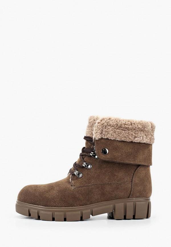 ботинки betsy для девочки, коричневые