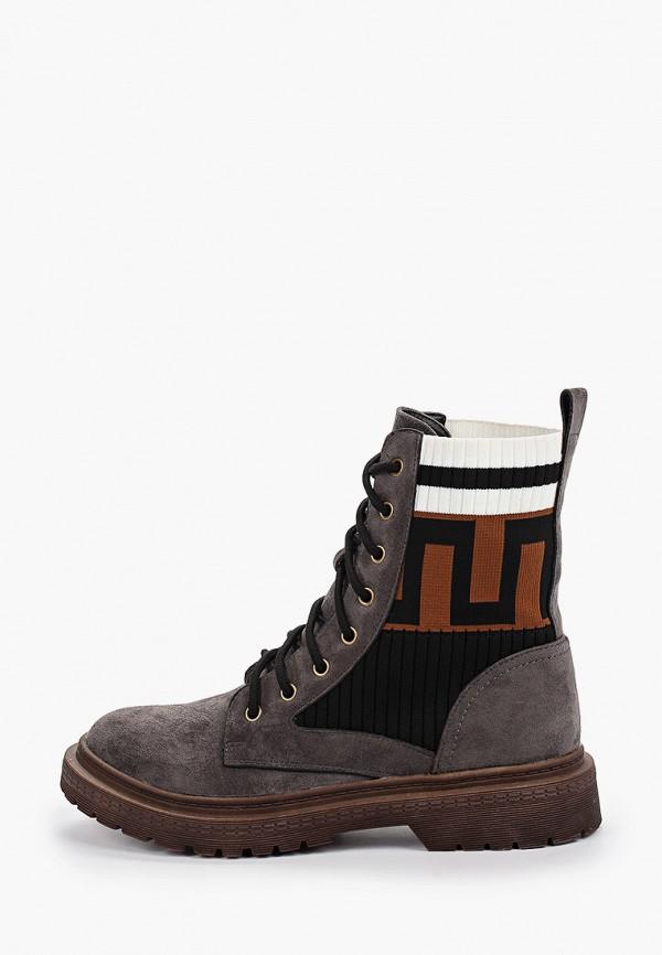 ботинки betsy для девочки, серые