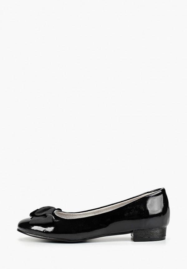 туфли betsy для девочки, черные