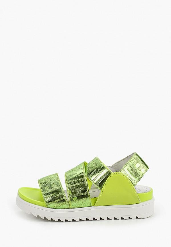 сандалии betsy для девочки, зеленые
