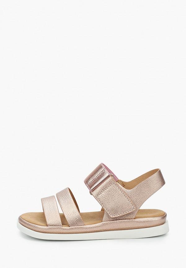 сандалии betsy для девочки, золотые