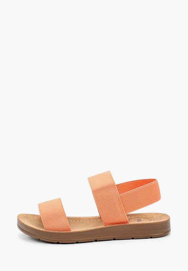 сандалии betsy для девочки, оранжевые