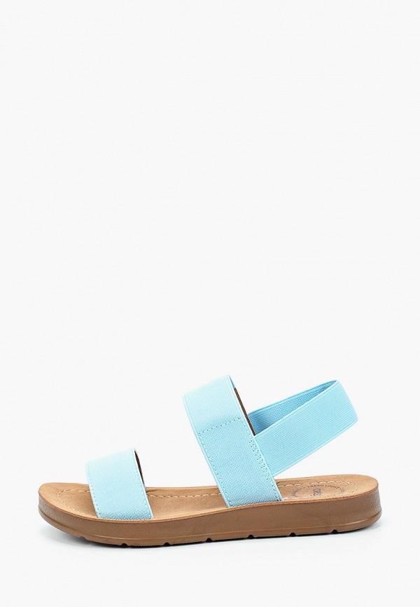 сандалии betsy для девочки, голубые