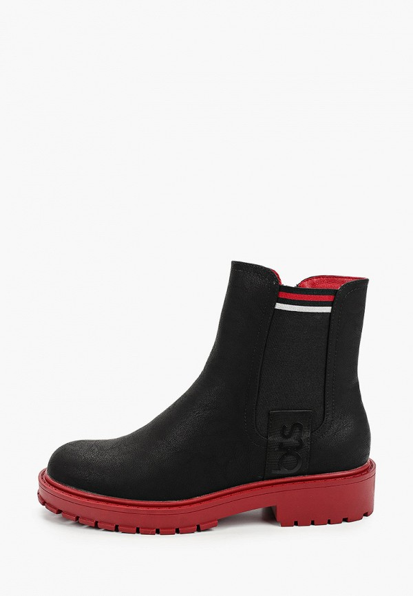 ботинки betsy для девочки, черные