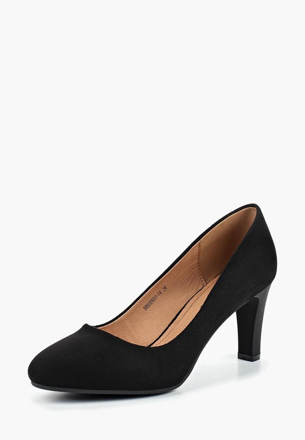 Купить Туфли Betsy, Betsy BE006AWCICV8, черный, Осень-зима 2018/2019