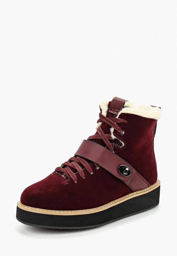 женские ботинки betsy, бордовые