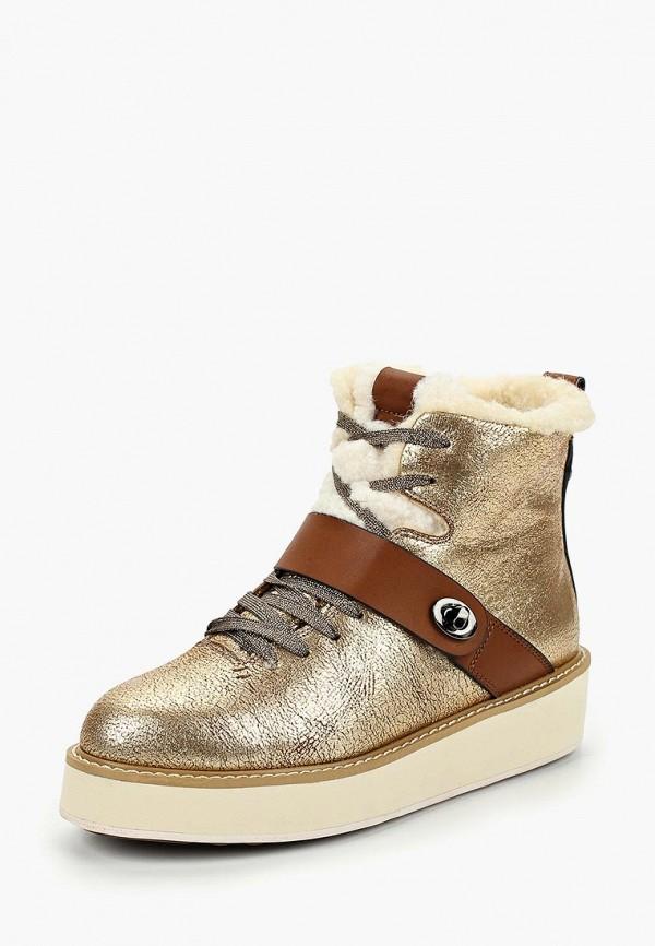 Купить Ботинки Betsy, be006awciei6, золотой, Осень-зима 2018/2019