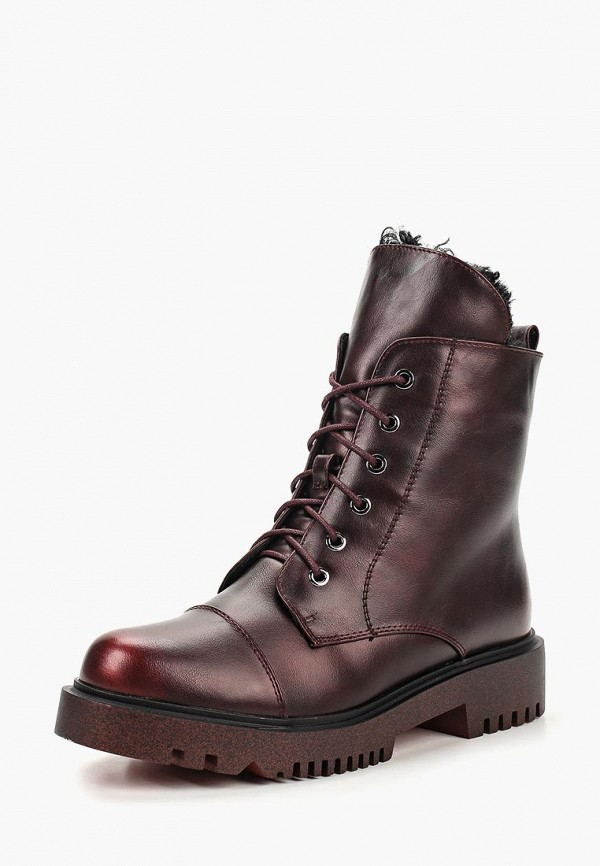 Купить Ботинки Betsy, Betsy BE006AWCIES5, бордовый, Осень-зима 2018/2019
