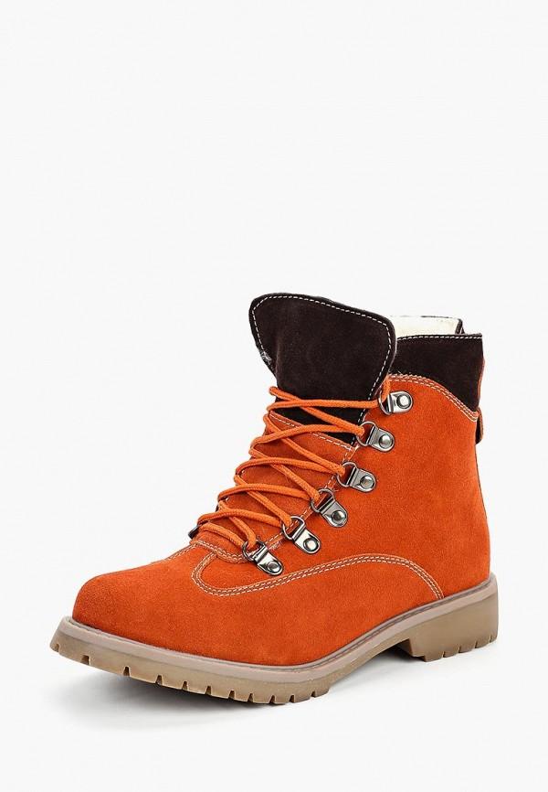 Купить Ботинки Betsy, Betsy BE006AWCIEW6, оранжевый, Осень-зима 2018/2019