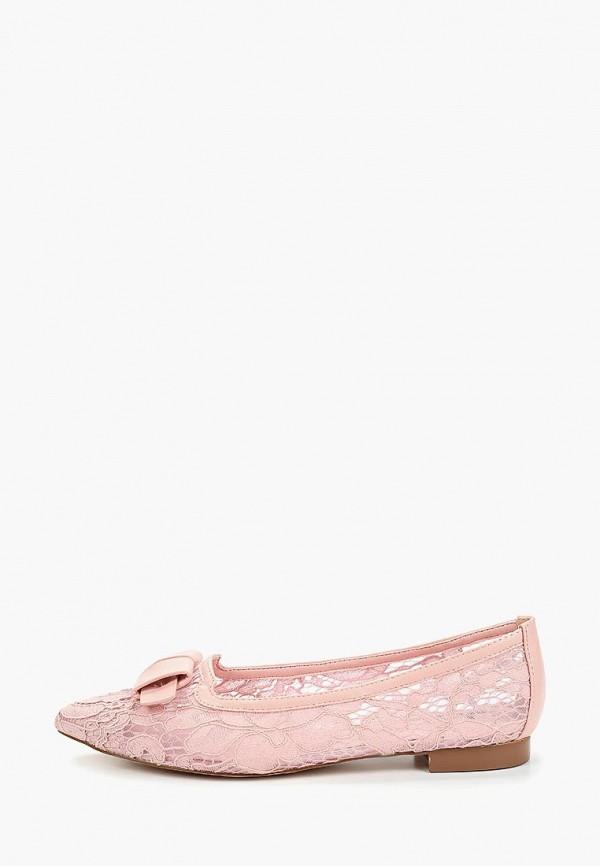 женские балетки betsy, розовые