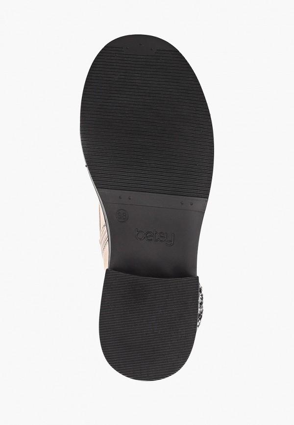 Фото 5 - женские ботинки и полуботинки Betsy розового цвета