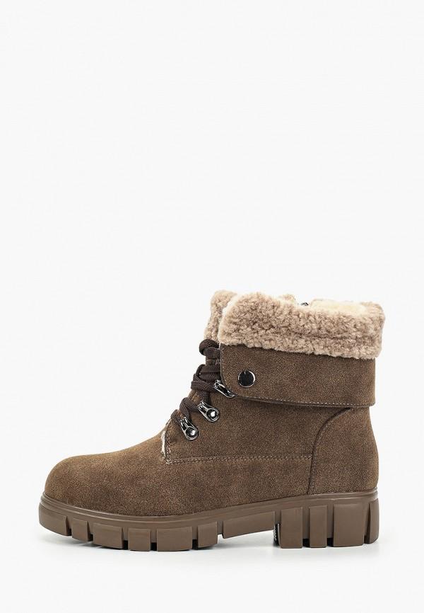женские высокие ботинки betsy, коричневые