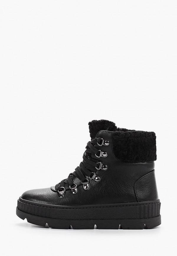 женские высокие ботинки betsy, черные