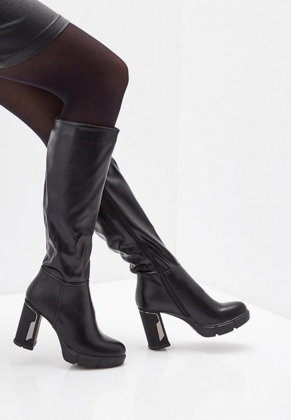 Фото 7 - женские сапоги Betsy черного цвета
