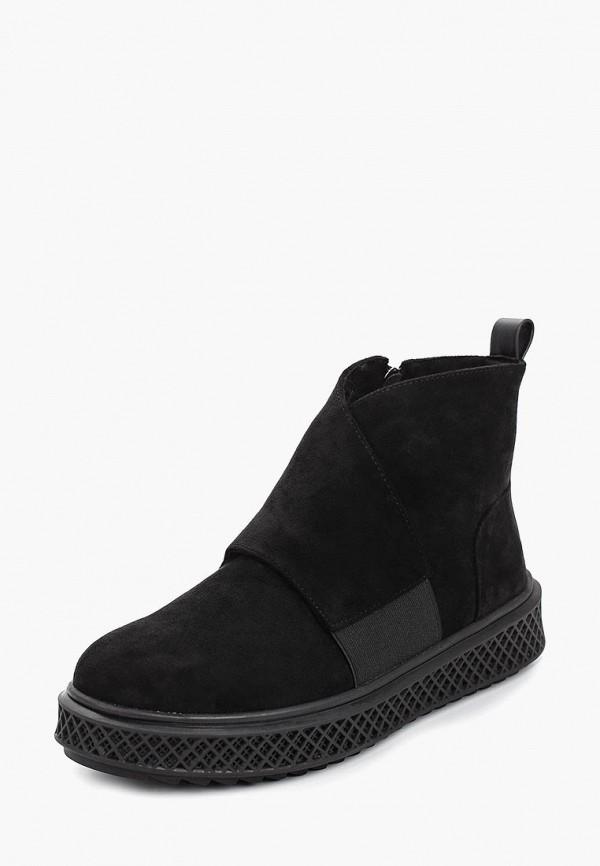 Фото 2 - женские ботинки и полуботинки Betsy черного цвета