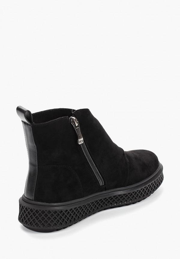 Фото 3 - женские ботинки и полуботинки Betsy черного цвета