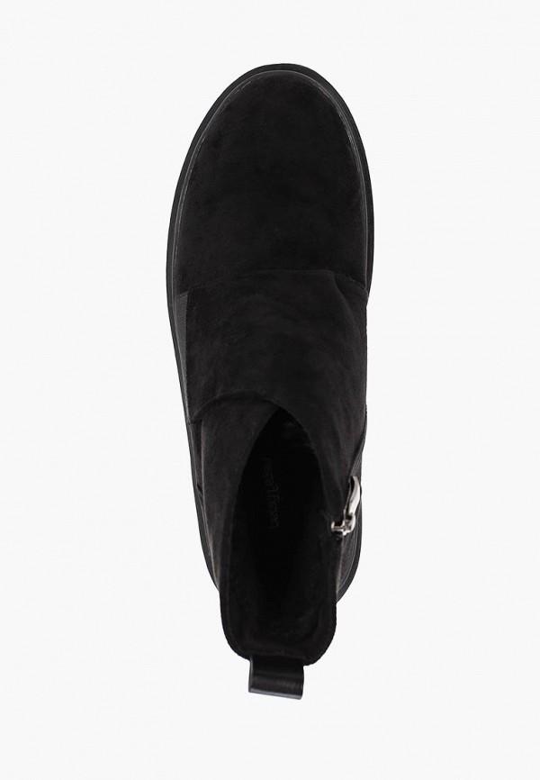 Фото 4 - женские ботинки и полуботинки Betsy черного цвета