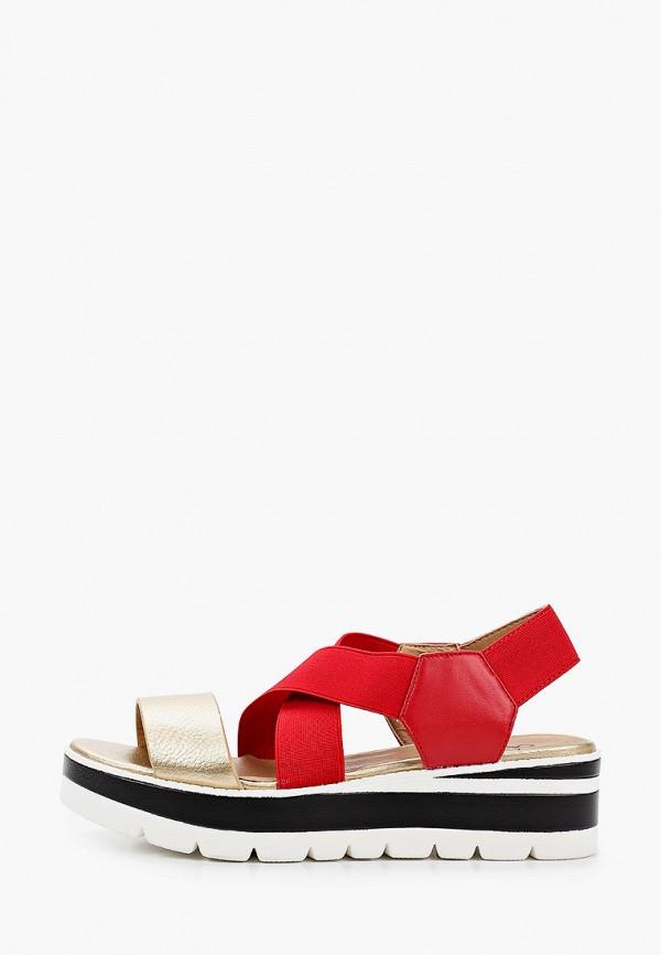 женские сандалии betsy, красные