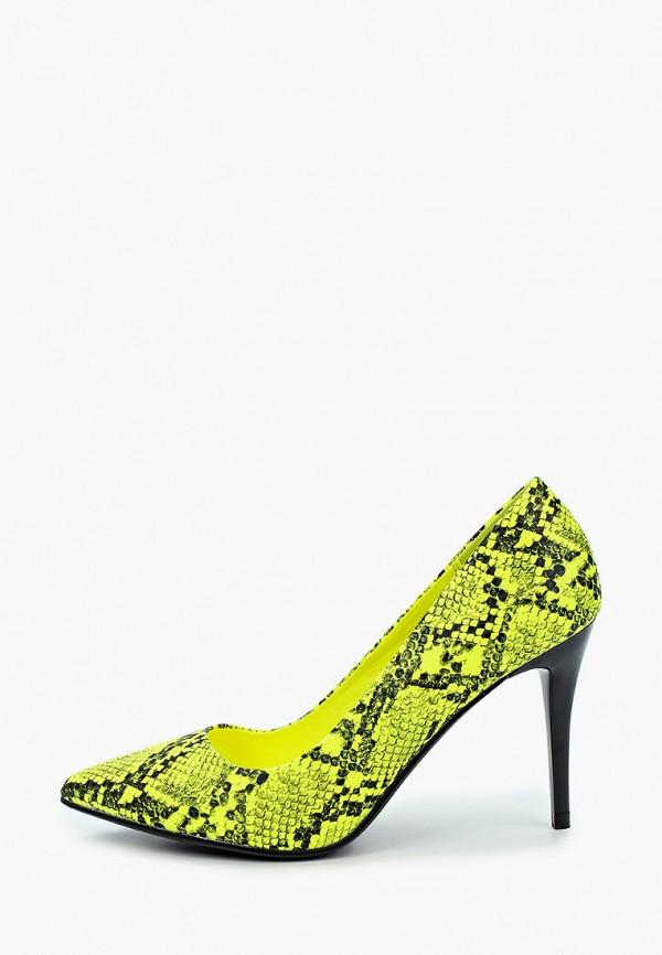 женские туфли-лодочки betsy, желтые