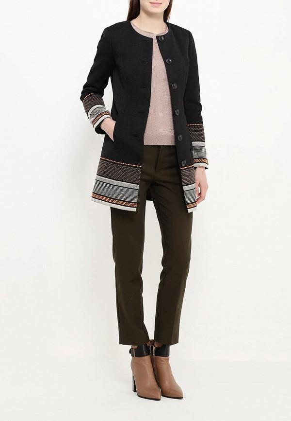 Фото 2 - женское пальто или плащ Bebe черного цвета