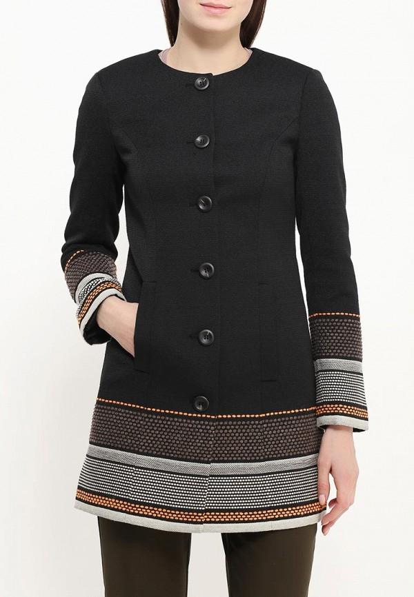 Фото 3 - женское пальто или плащ Bebe черного цвета
