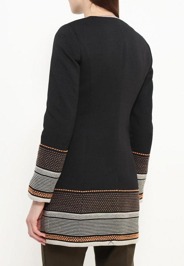 Фото 4 - женское пальто или плащ Bebe черного цвета