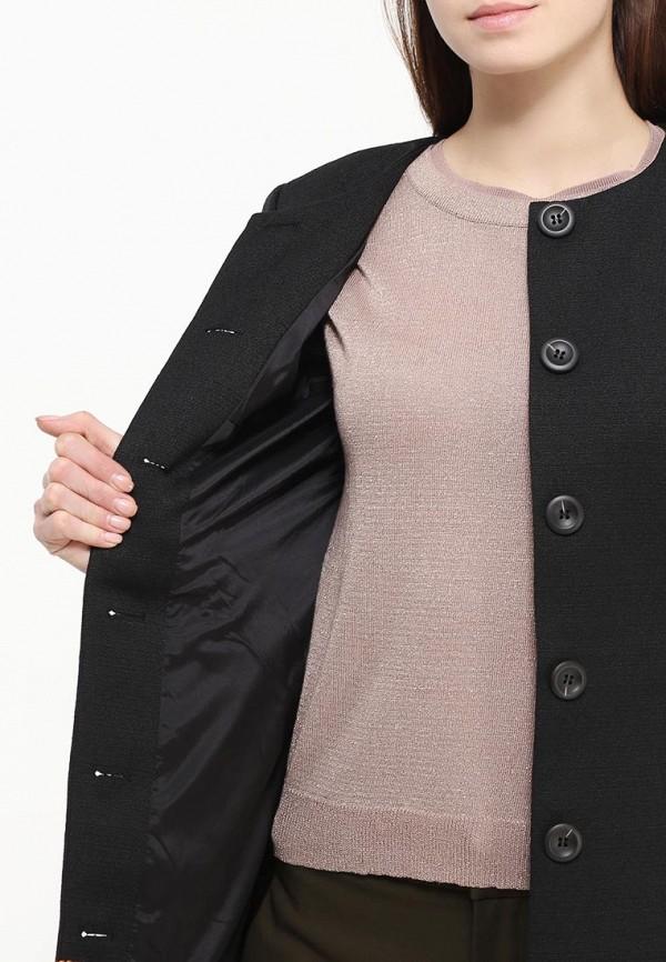 Фото 5 - женское пальто или плащ Bebe черного цвета