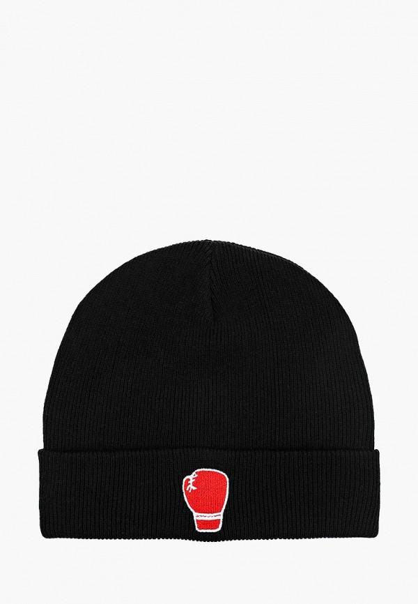 мужская шапка befree, черная