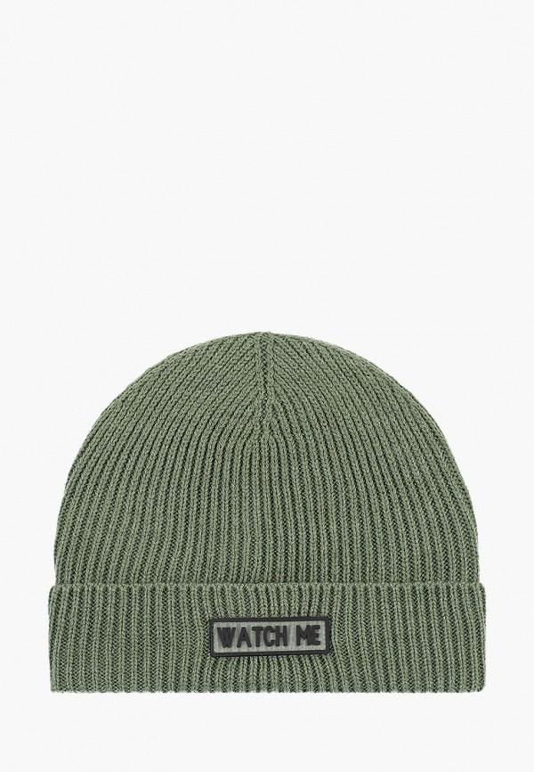 женская шапка befree, хаки