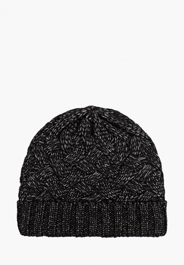 женская шапка befree, черная