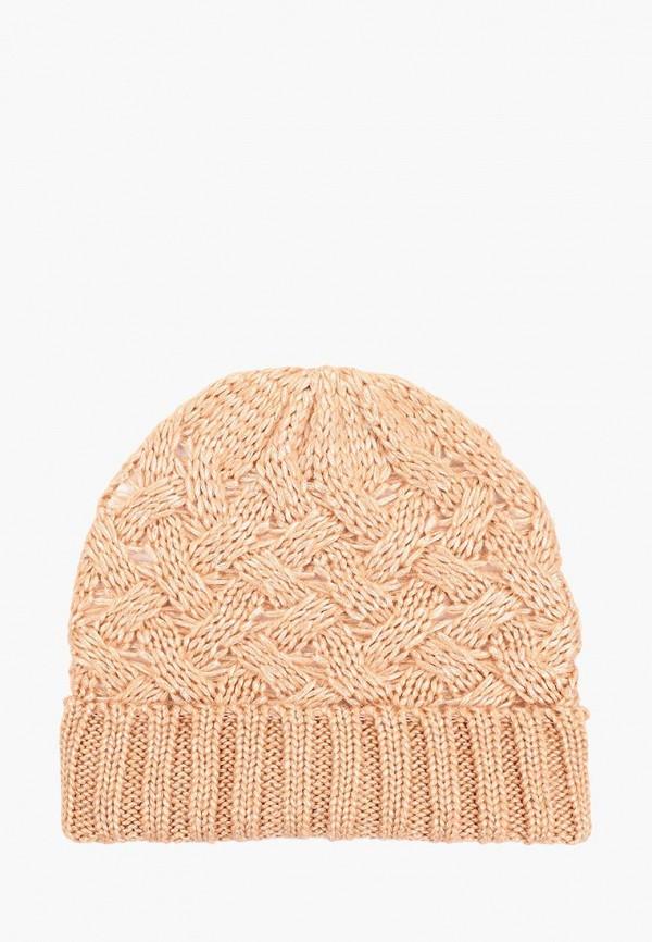 женская шапка befree, розовая