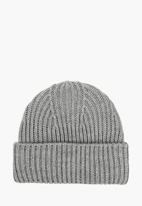 женская шапка befree, серая