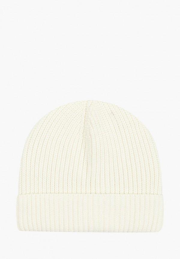 женская шапка befree, белая