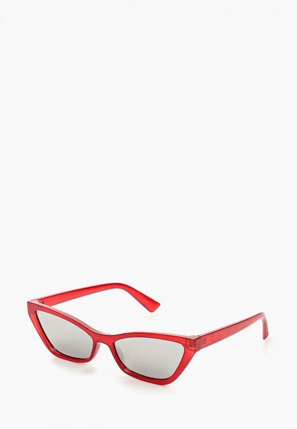 женские солнцезащитные очки befree, красные