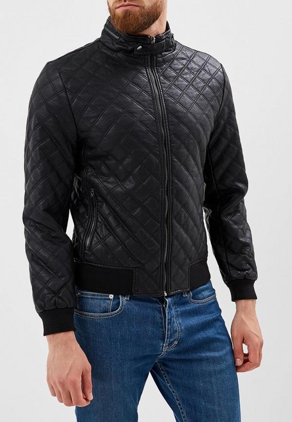 Купить Куртка кожаная Befree, BE031EMBVVN5, черный, Осень-зима 2018/2019