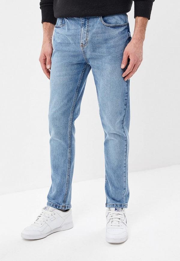 мужские прямые джинсы befree, голубые