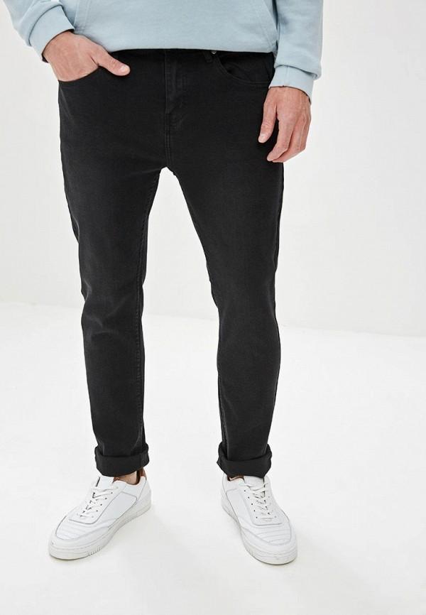 мужские зауженные джинсы befree, черные