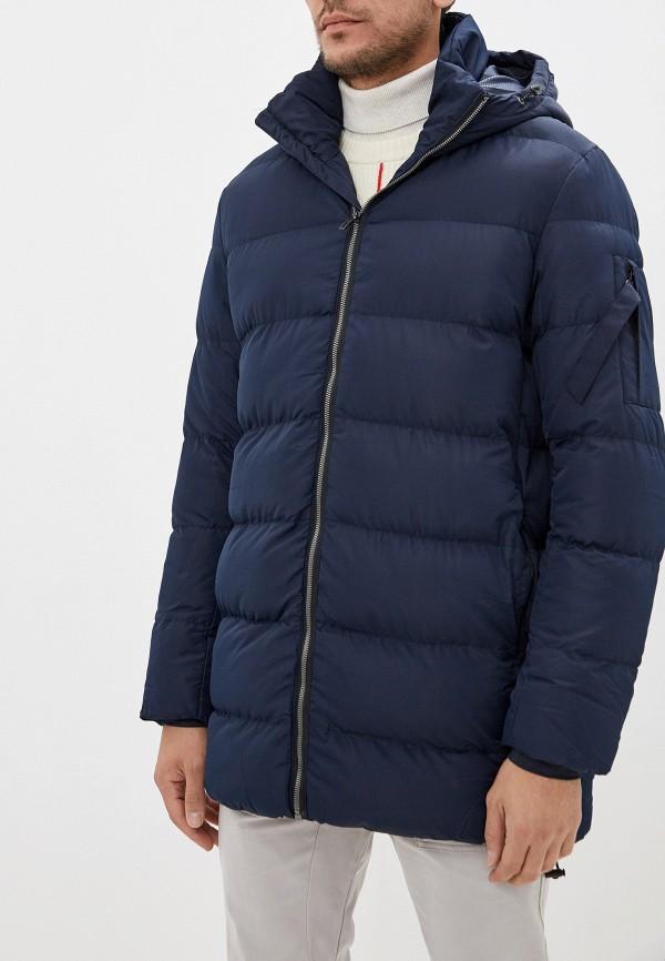 Фото - Куртку утепленная Befree синего цвета