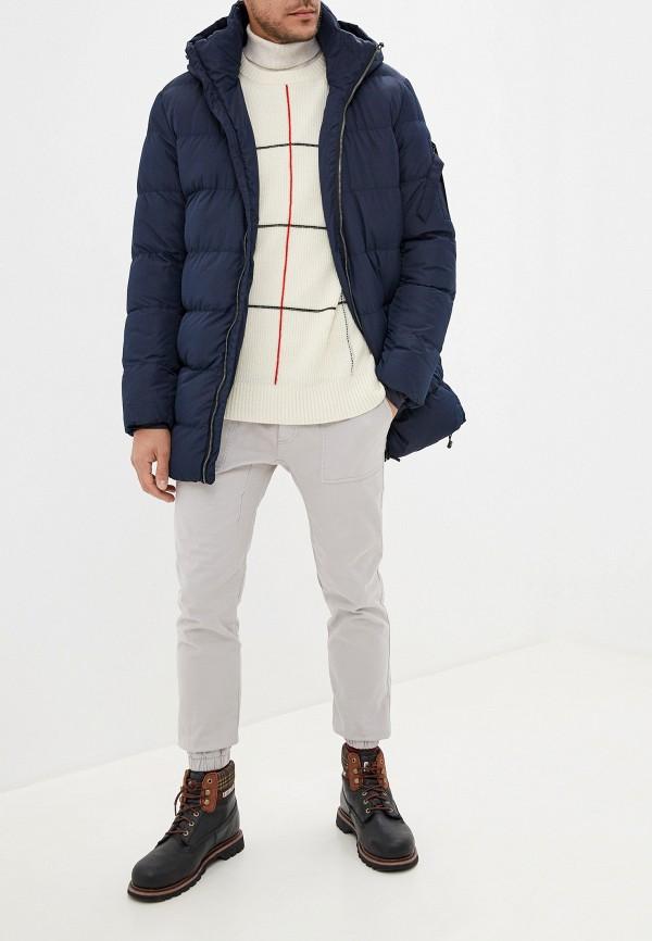 Фото 2 - Куртку утепленная Befree синего цвета