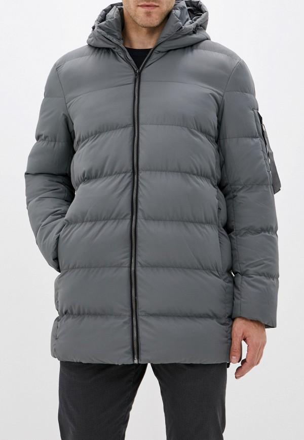 Фото - Куртку утепленная Befree серого цвета