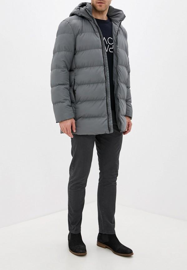 Фото 2 - Куртку утепленная Befree серого цвета